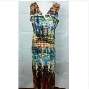 Mushka By Sienna Rose Long Boho Dress Large